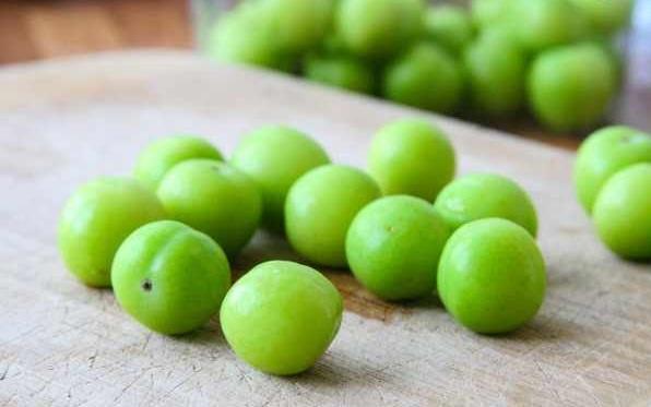 انواع آلو سبز